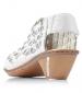 Woven Design Heeled Sandal Ice Multi