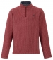 Newark 1/4 Zip Grid Fleece Chilli