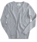 Lauder Cable Pullover Grey