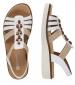 Multi Strap Sandal White