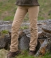 Ladies Moleskin Jeans - straight leg Stone