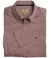 Dundas Cotton Shirt Plain Wine