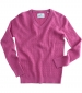 Lauder Cable Pullover Cerise