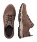 Rieker Lace Up Trek Shoe Brown