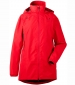 Noor Womans Parka Chili Red