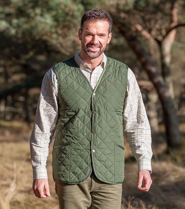 Lightweight Quilted Waistcoat