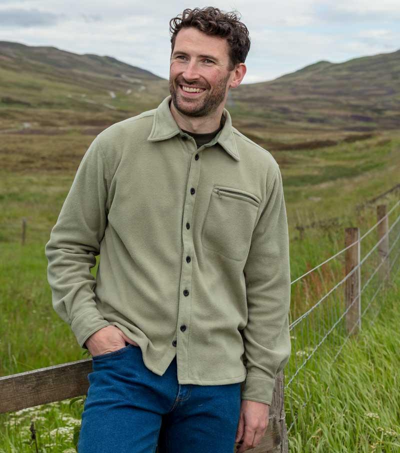 Highlander Fleece Shirt