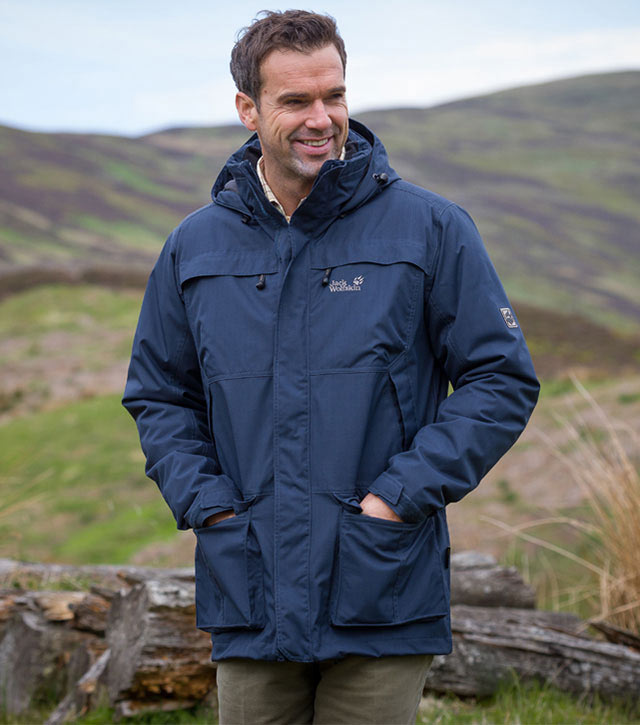 Jack Wolfskin North Country Men's Waterproof Jacket ...