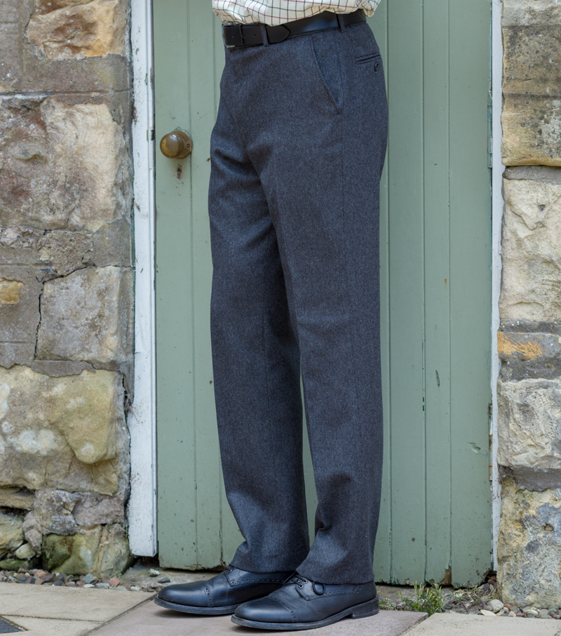 Lairg Flannel Wool Trouser