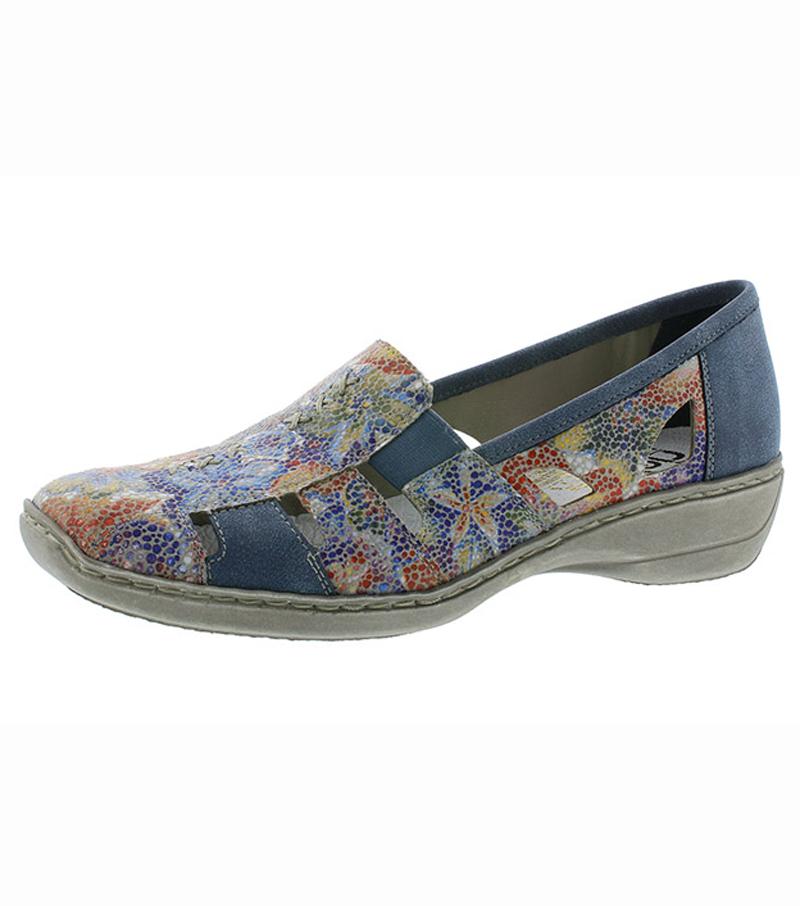 Floral Print Shoe
