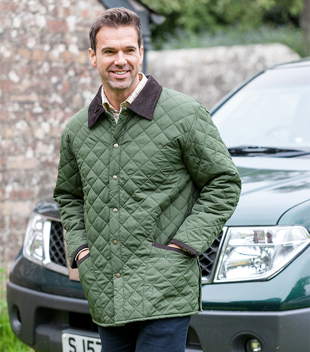 Hoggs Quilted County Jacket By Hoggs Of Fife Country Jackets From Fife Country