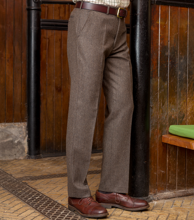 Donegal Wool Trouser