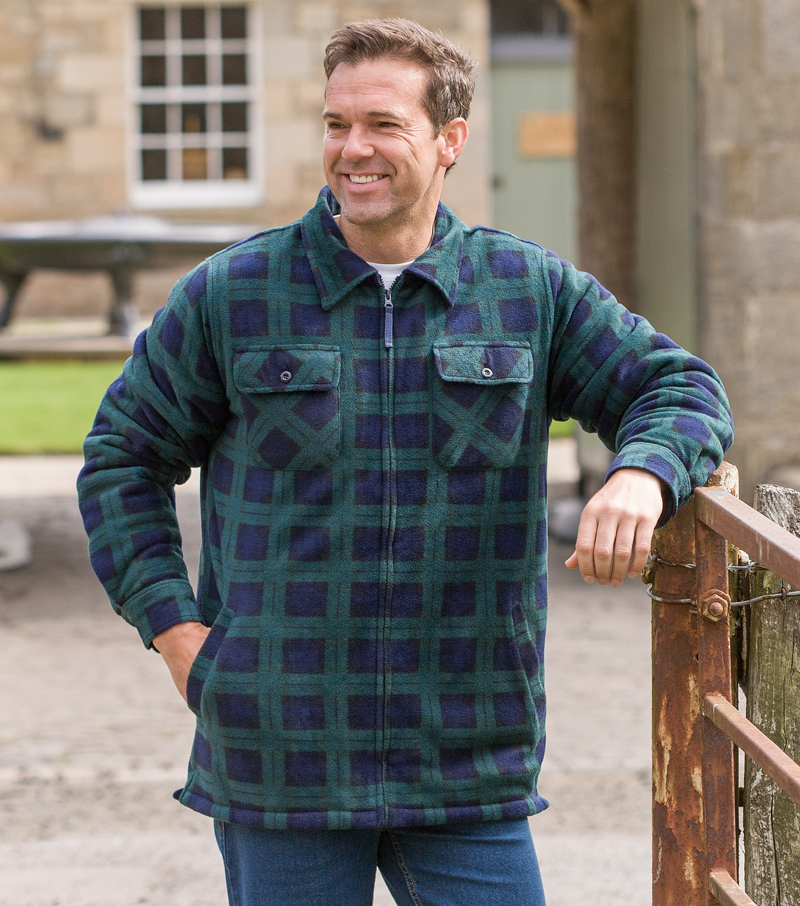 sutherland work from home reviews sutherland fleece shirt by hoggs of fife casual shirts 7365