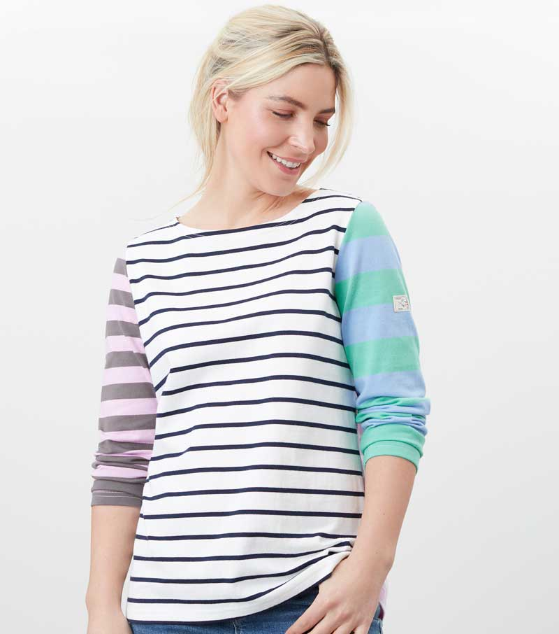 Harbour 3/4 Sleeve Top