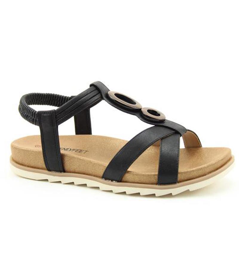 Tarragon Strap Sandal
