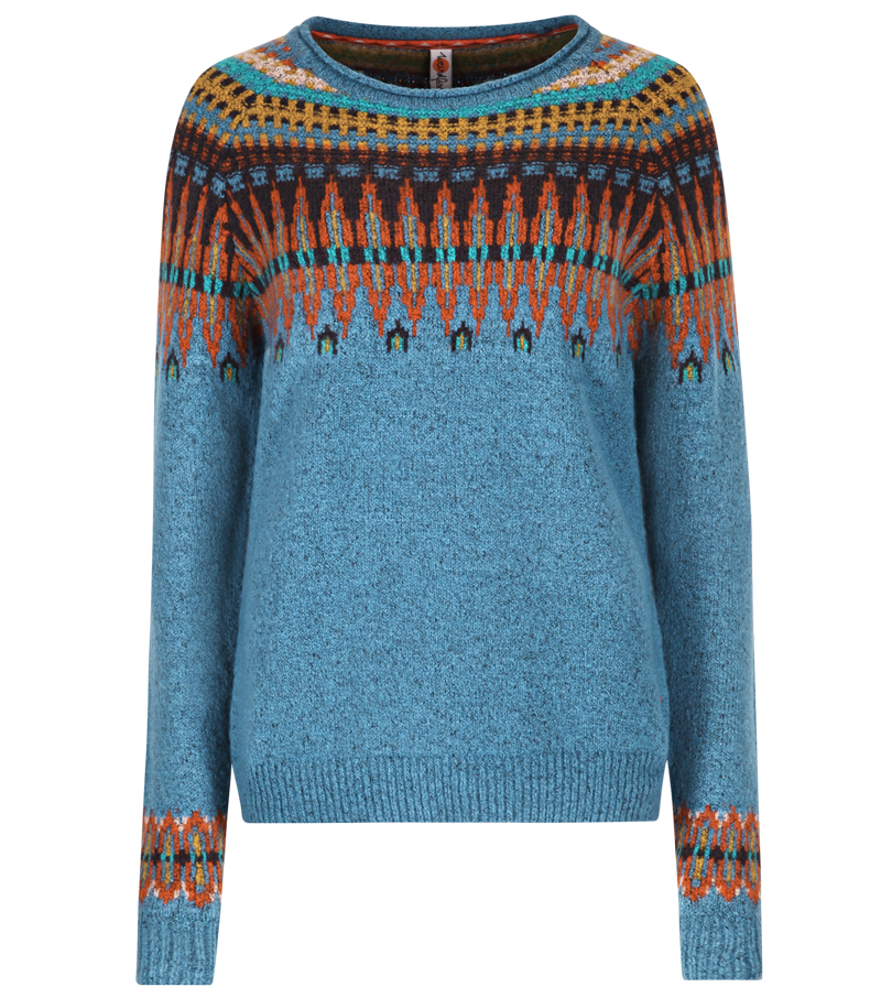 Kara Fair Isle Jumper by Weird Fish | Knitwear and Fleece from ...