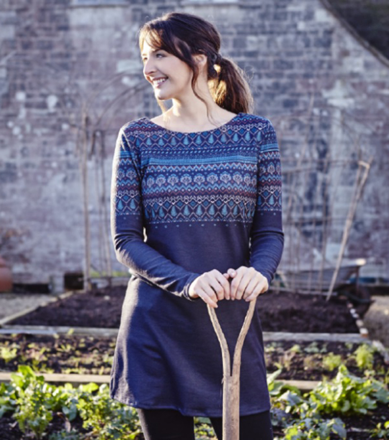 Angela Fairisle Tunic