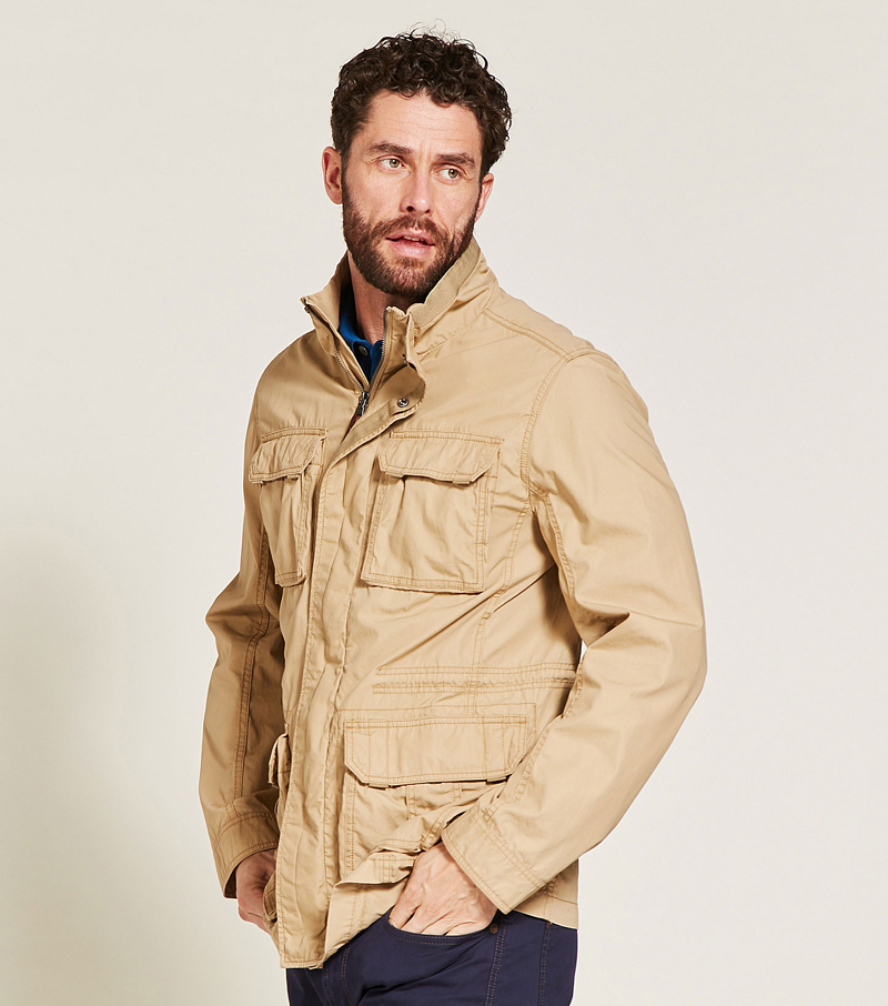 Gidson Safari Jacket By Aigle Casual Jackets From Fife
