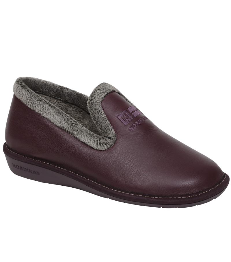 Nicola Leather House Shoe