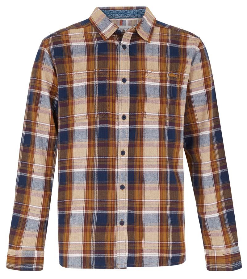 Matanic Herringbone Check Shirt