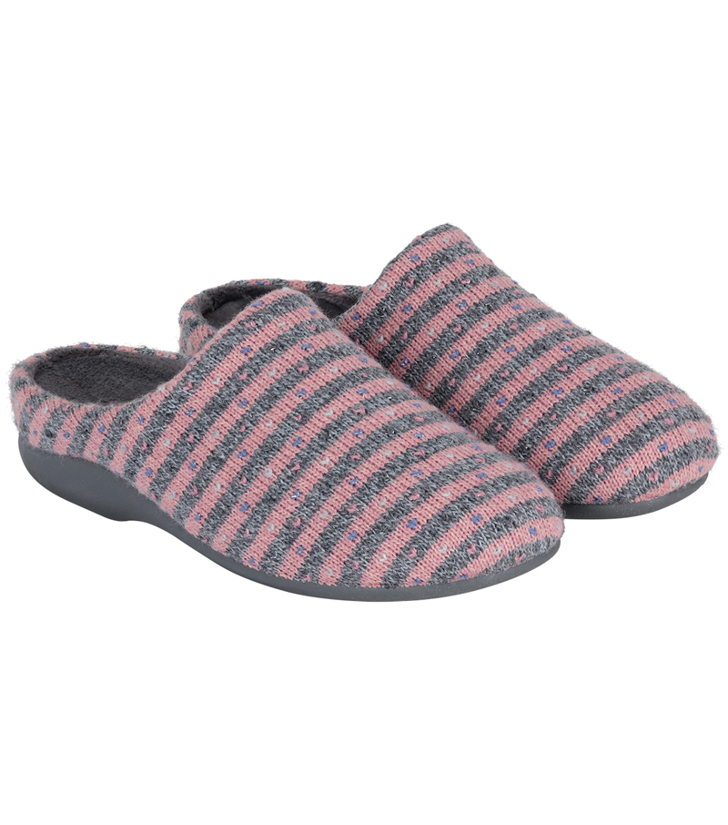 Heather Knit Mule