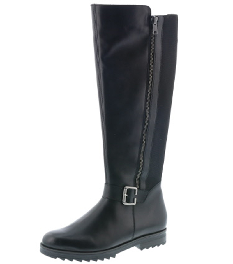 Knee High Boot with Side Buckle