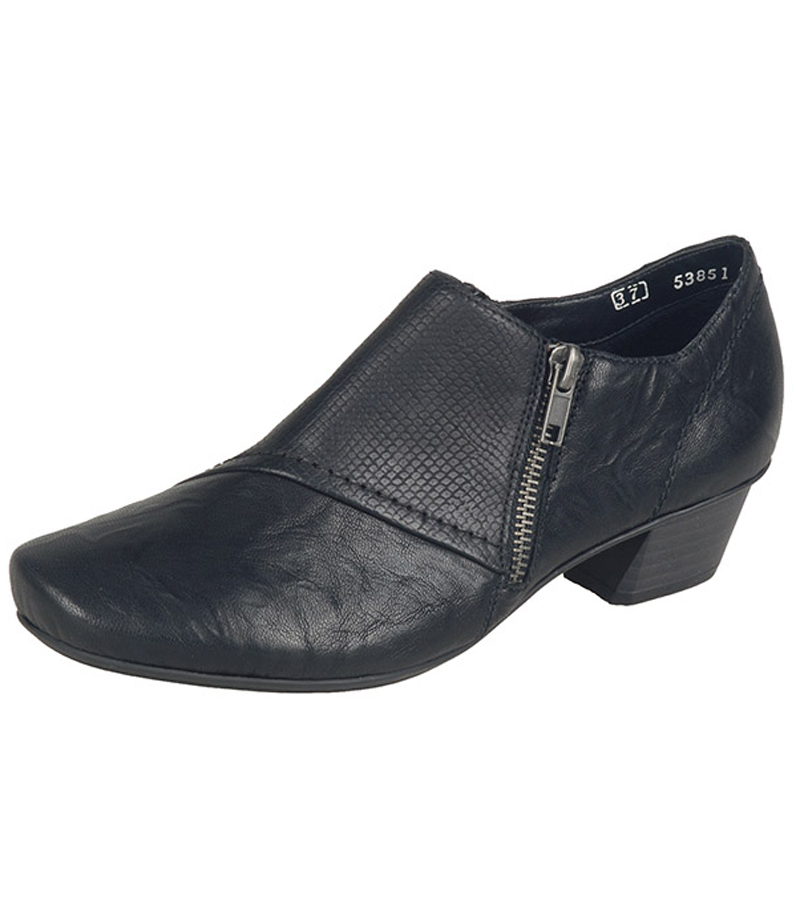 Side Zip Heeled Shoe