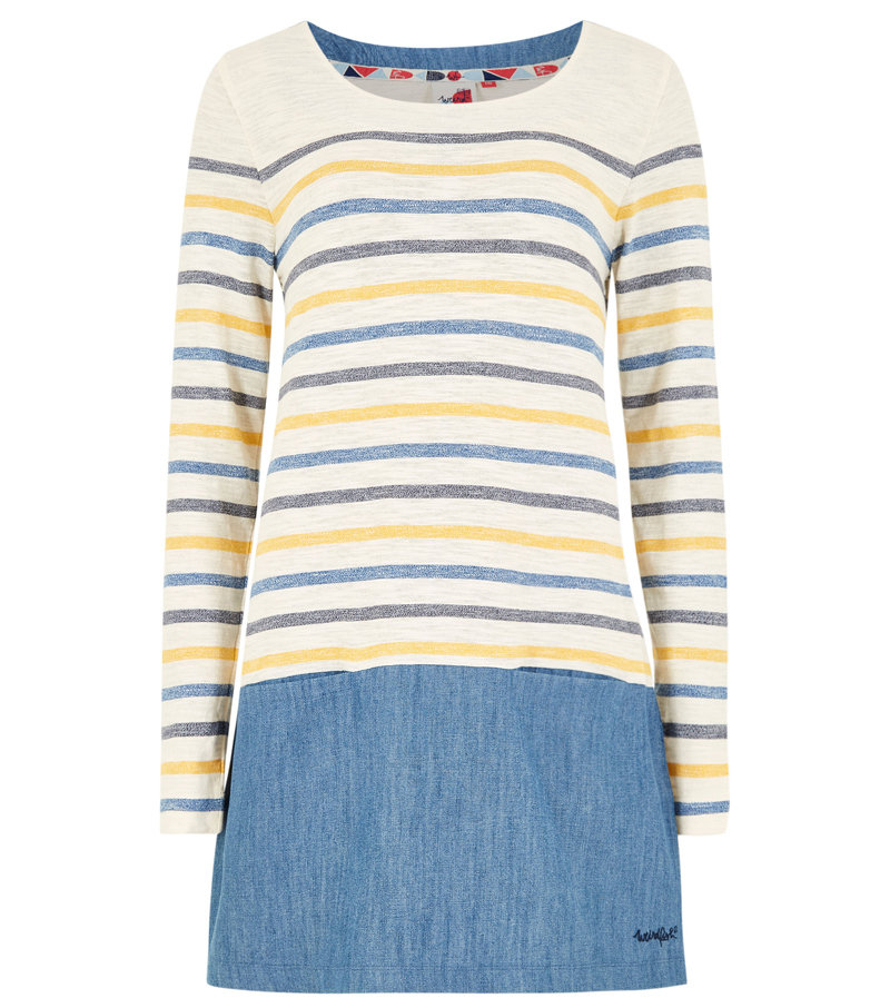 Alta Stripe Jersey Tunic