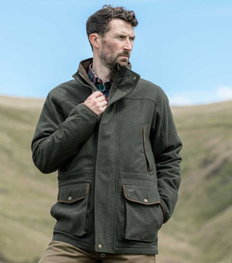 Lairg Wool Field Coat