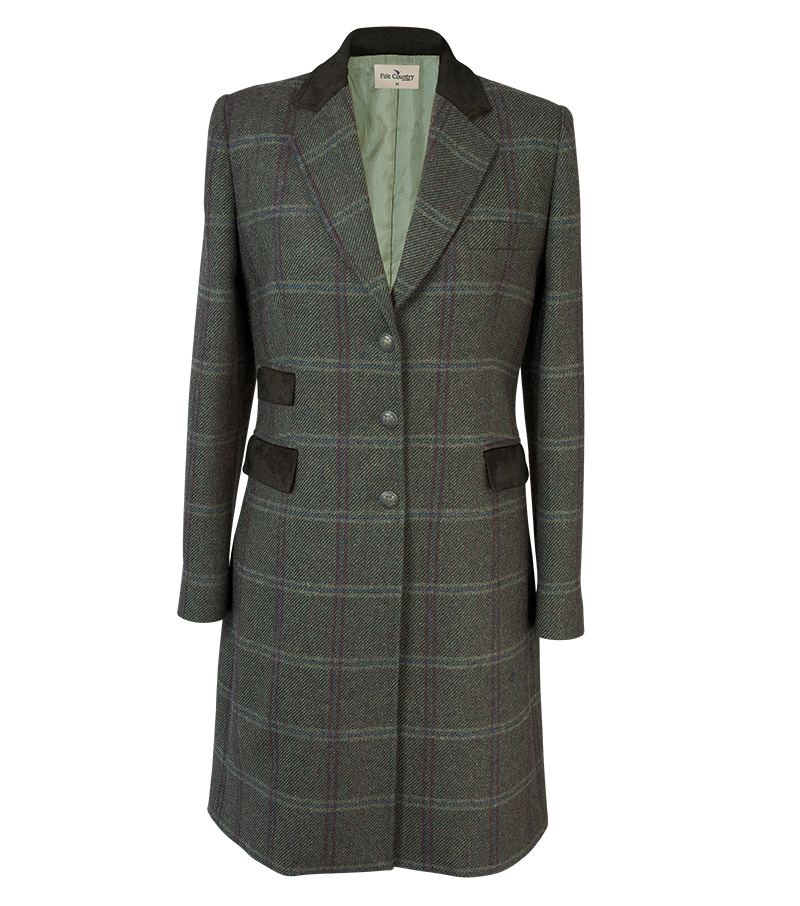 Long Tweed Coat