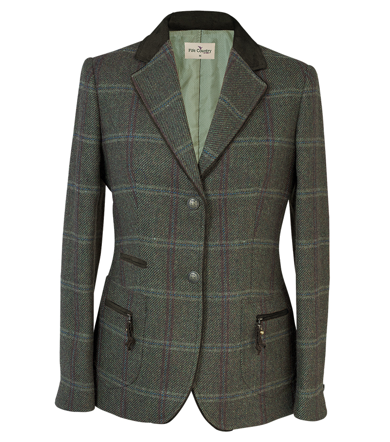 Short Tweed Coat