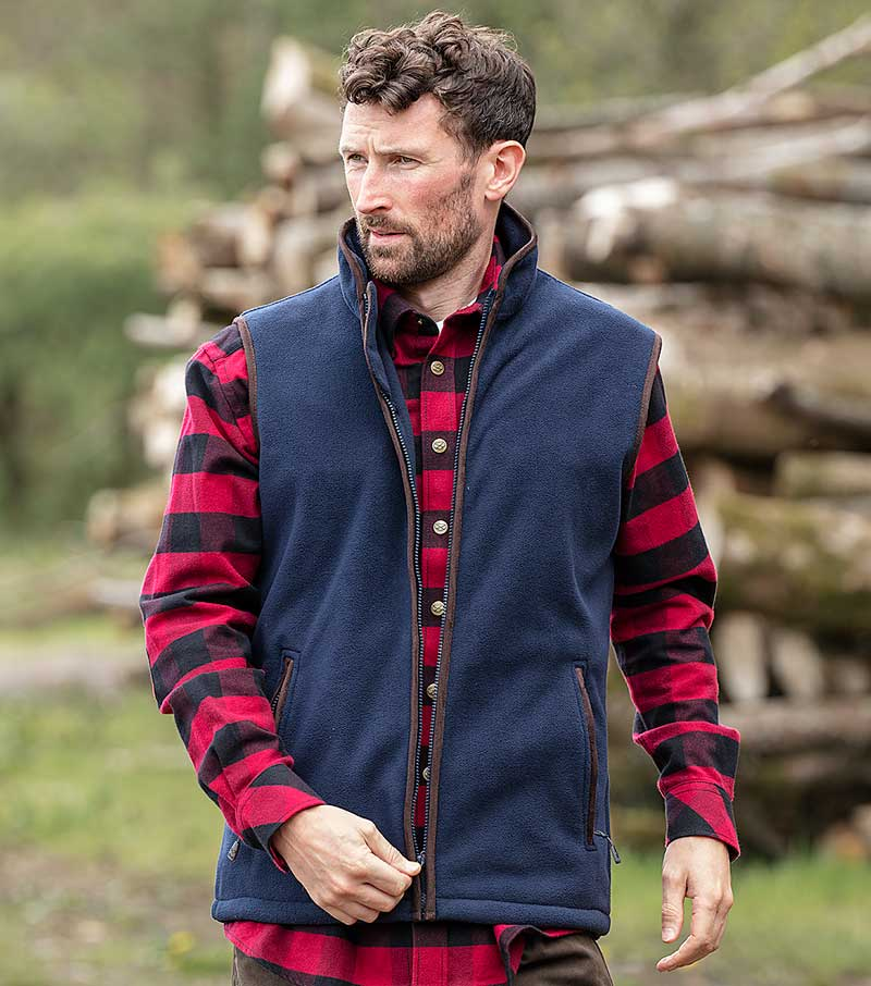 Woodhall Fleece Gilet
