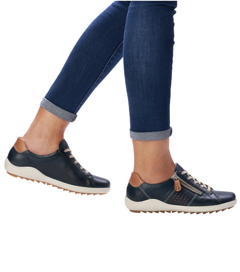Side Zip Casual Shoe