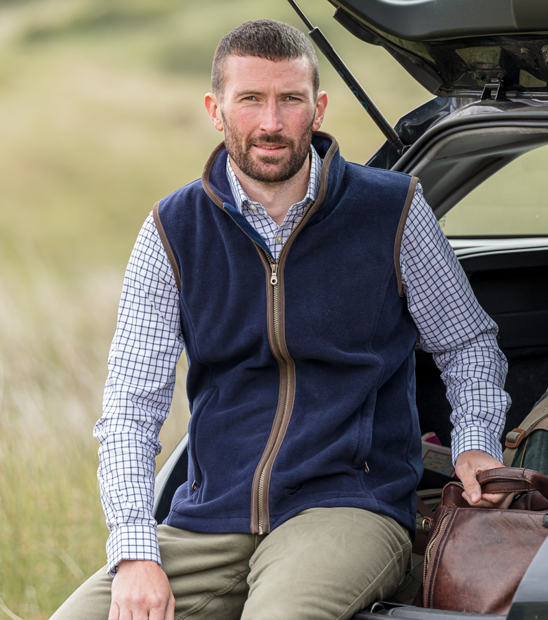 Stenton Fleece Gilet