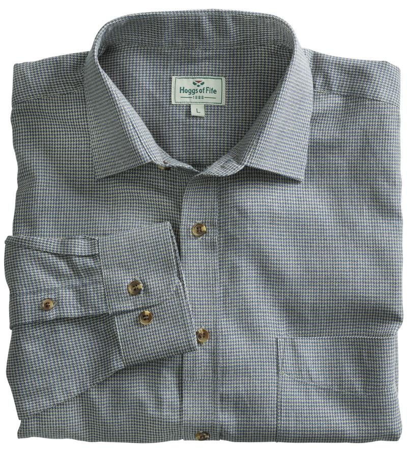 Houndstooth Pincheck Shirt