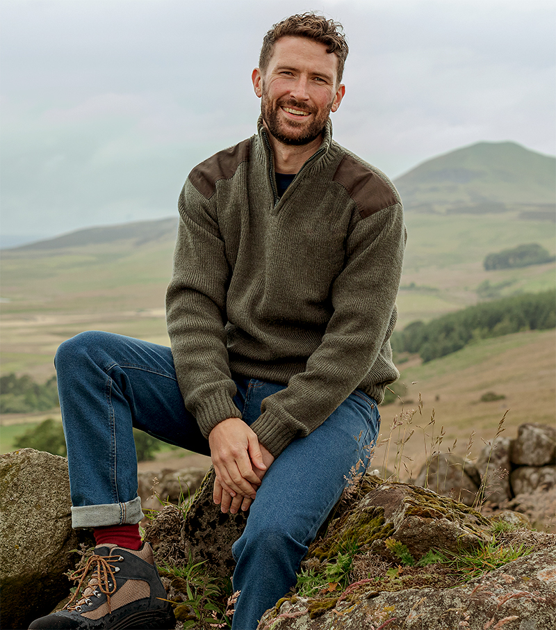 Hebrides Windproof Pullover