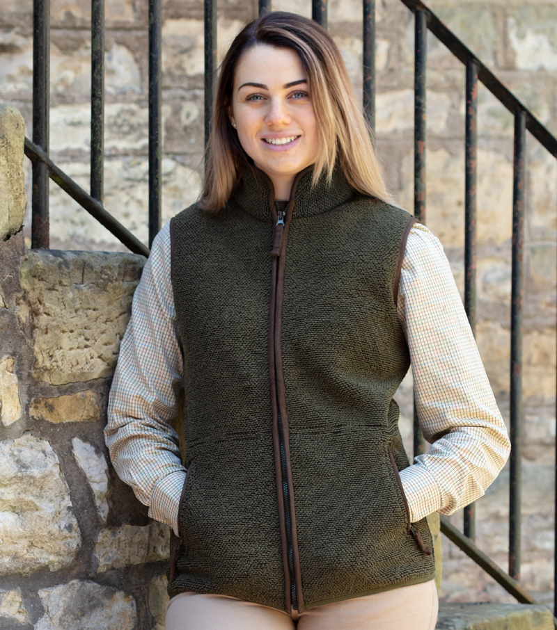Sussex Tufted Fleece Gilet