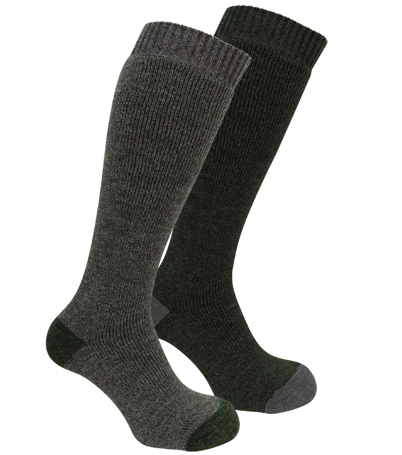 Wool Rich Long Sock