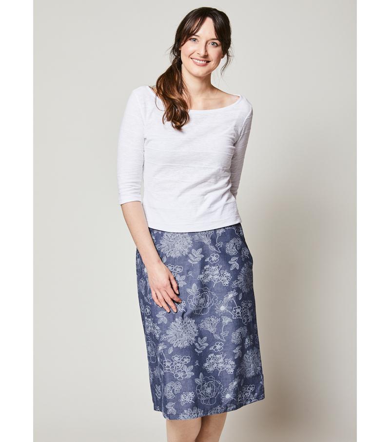 Midi Skirts and Dresses