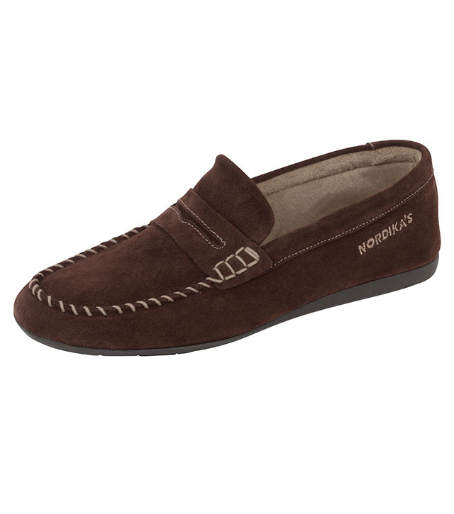 459892de75339 Nordika's Samuel Mocassin by Nordika | Slippers from Fife Country