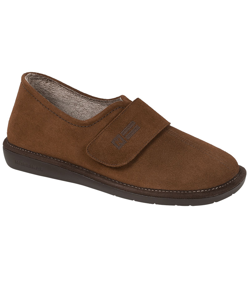 Max Easy-fasten Suede House Shoe
