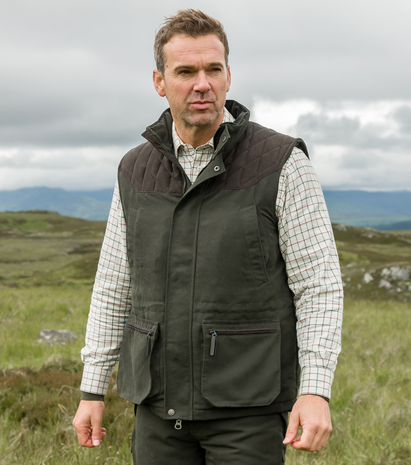fa2ddfc07d197 Kincraig Waistcoat by Hoggs of Fife | Bodywarmers and Gilets from Fife  Country
