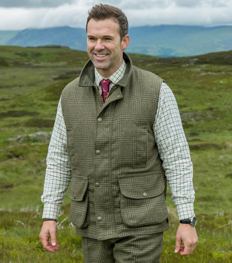 Invergarry Tweed Waistcoat