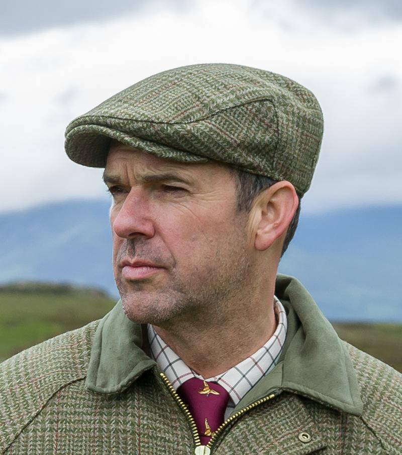 Invergarry Tweed Cap