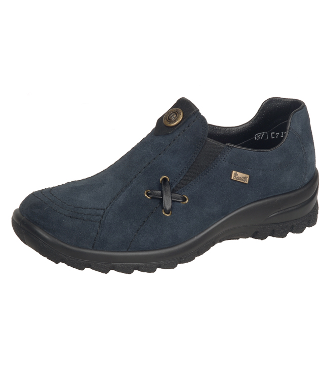 Waterproof Nubuck Slip-on