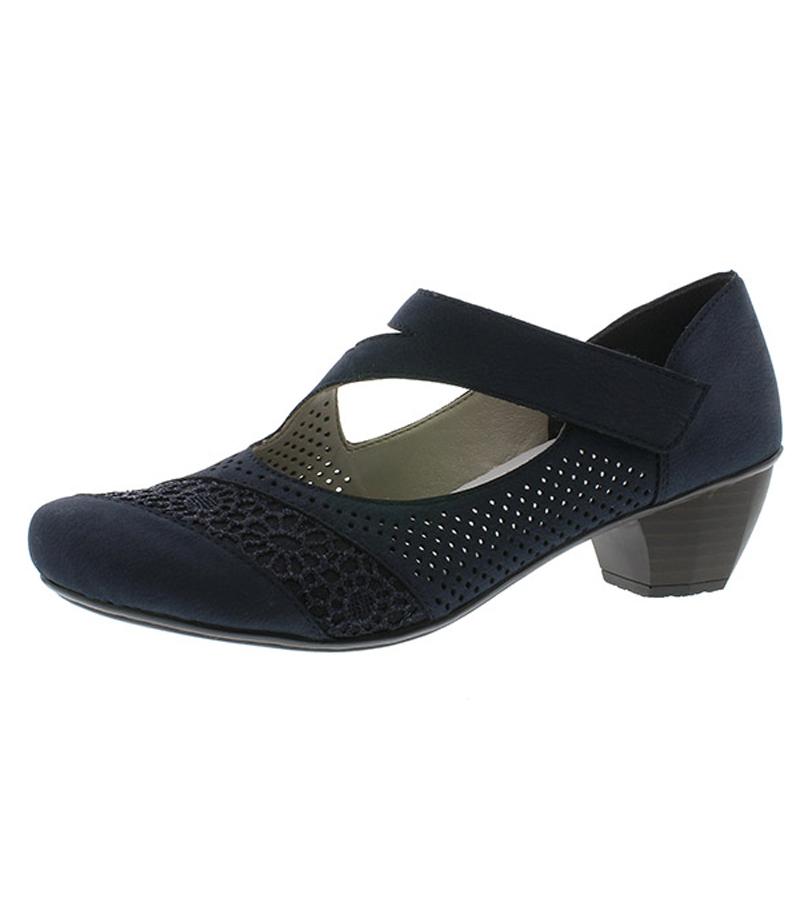 Cut Out Heeled Shoe