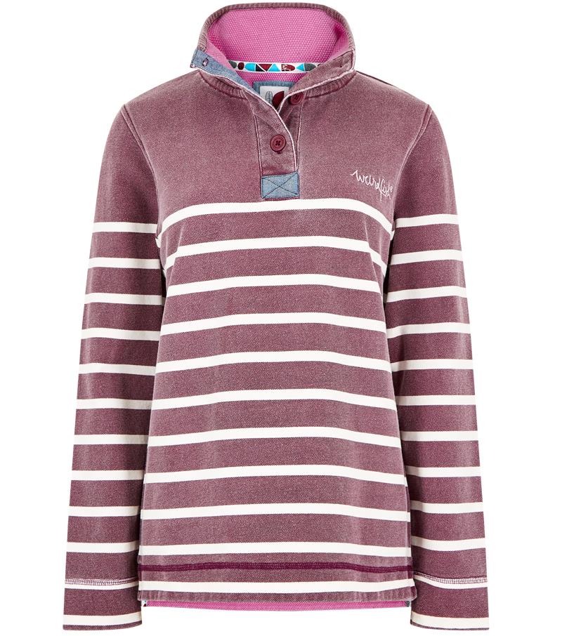 Hansley Striped Sweatshirt