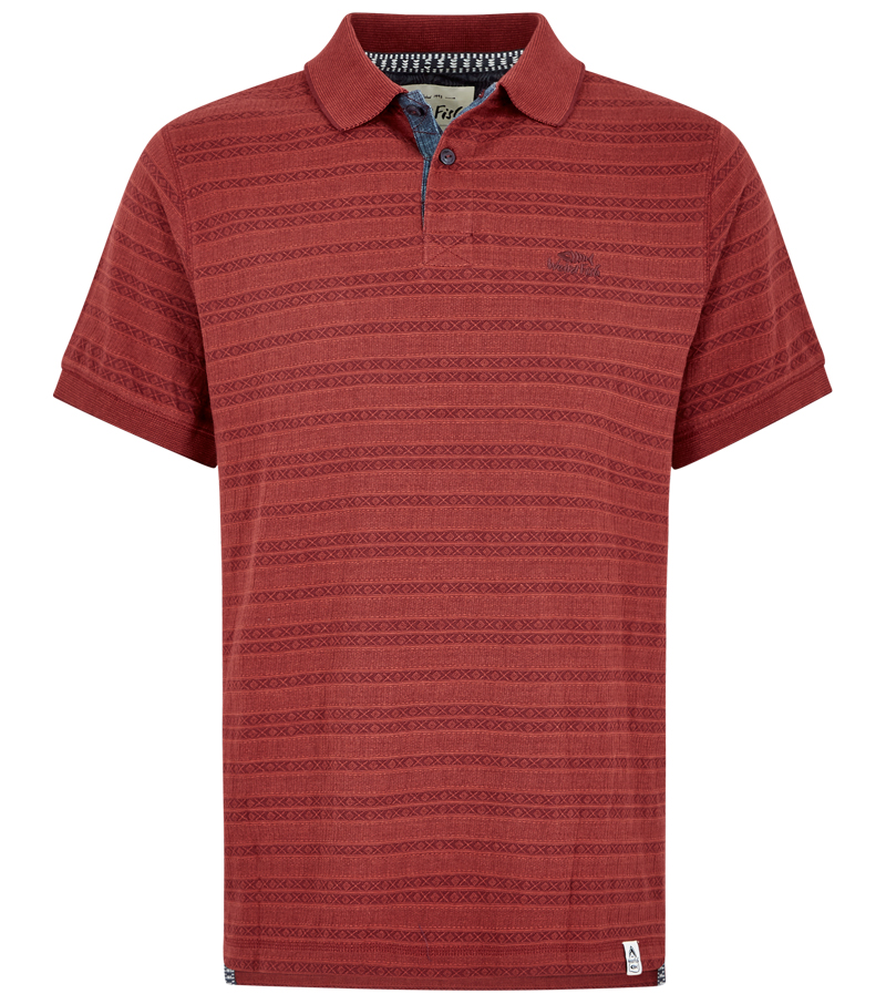 Baskin Jacquard Polo