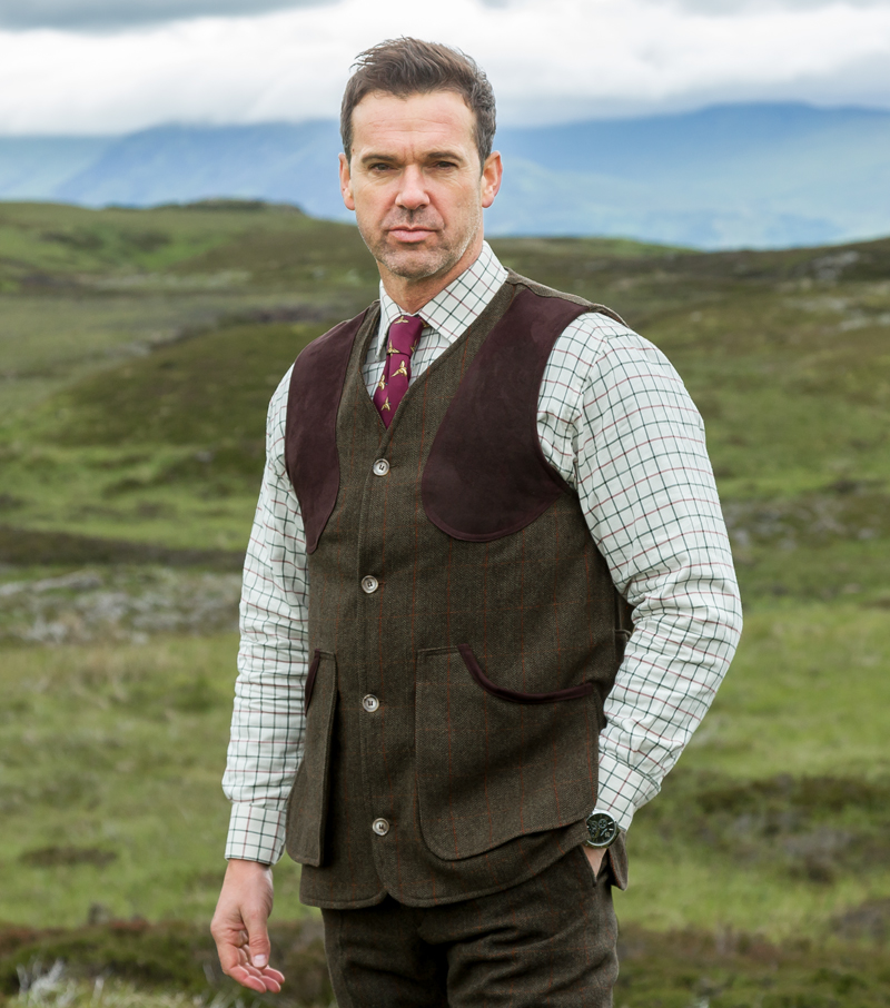 a7410bc08f9b4 Harewood Tweed Waistcoat by Hoggs of Fife | Tweeds and Breeks from Fife  Country
