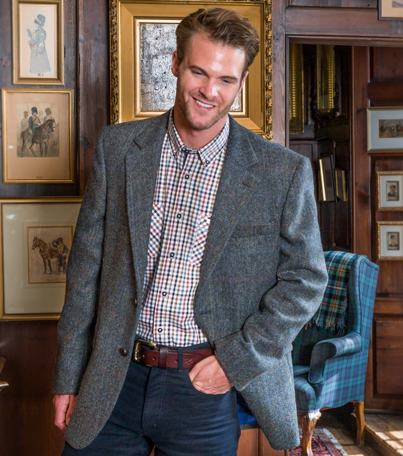 Lewis Harris Tweed Jacket